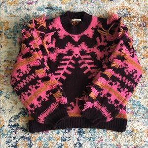New! Ulla Johnson Abia fringe sweater Medium $695